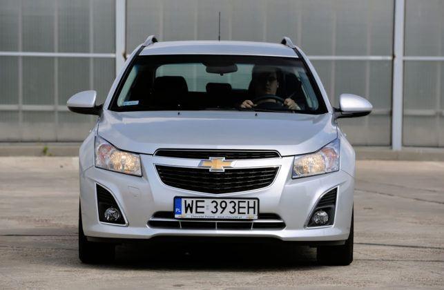 Używany Chevrolet Cruze - przód
