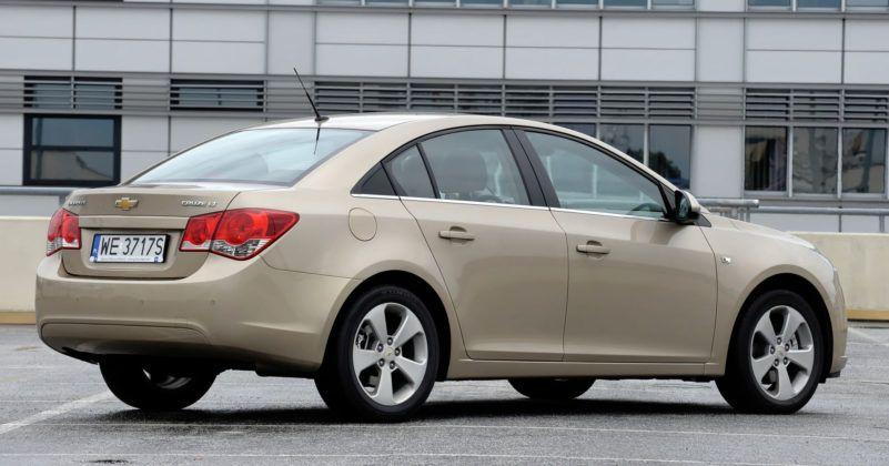 Używany Chevrolet Cruze sedan - opinie