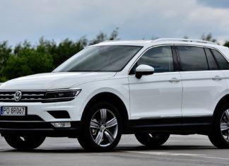 Volkswagen Tiguan - dane techniczne