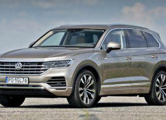 Volkswagen Touareg - dane techniczne