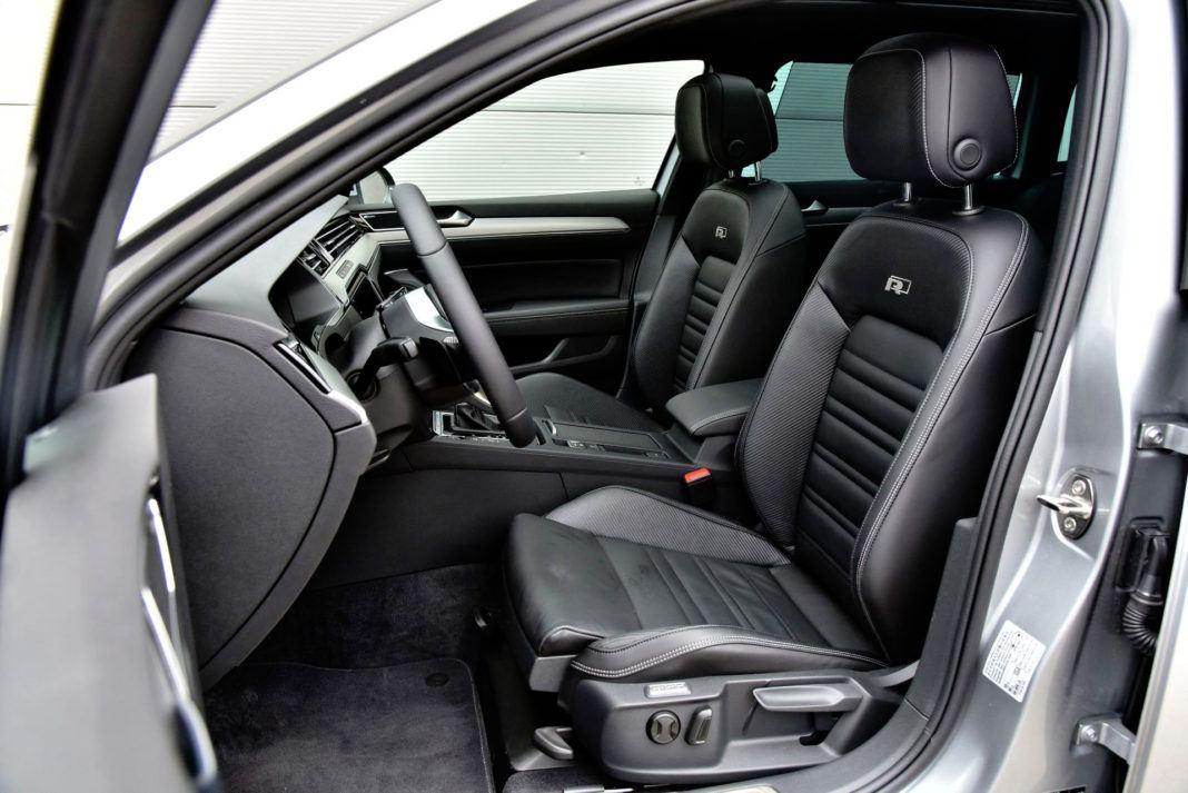 Volkswagen Passat - fotel kierowcy