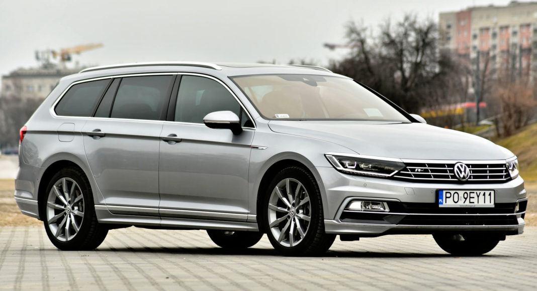 Volkswagen Passat - przód