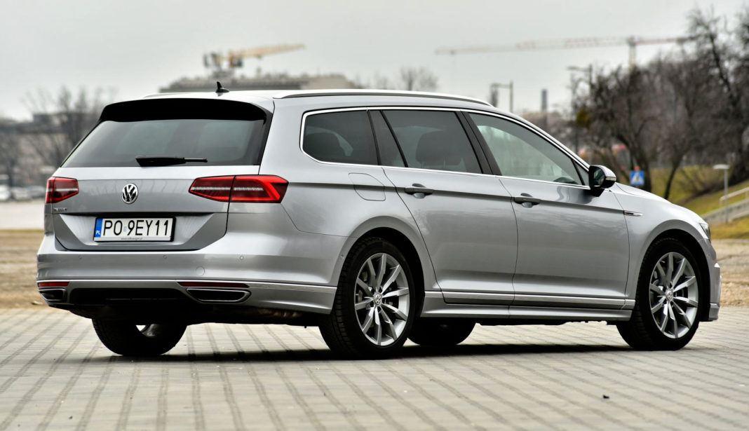 Volkswagen Passat - tył