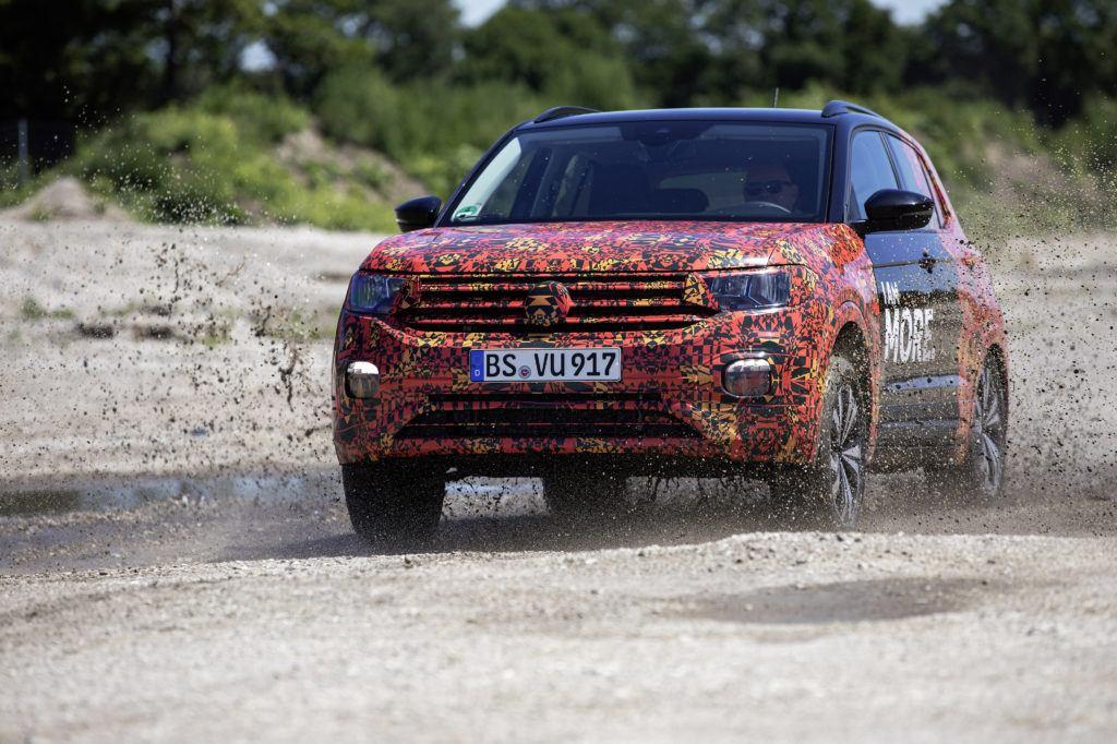 Volkswagen T-Cross w terenie
