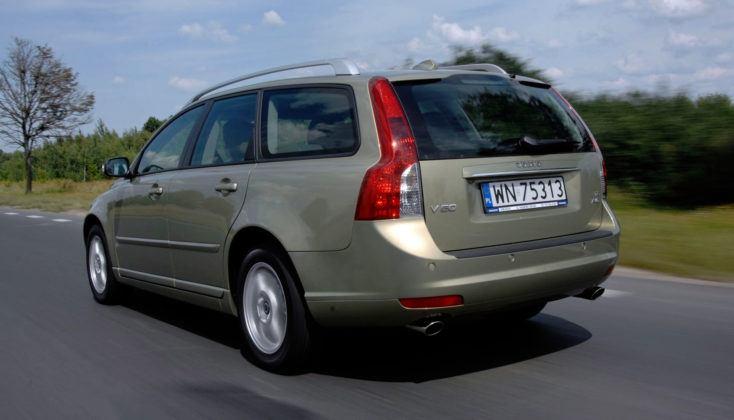 Volvo V50 - bagażnik