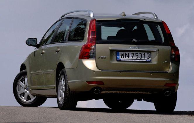Volvo V50 - pojemność bagażnika