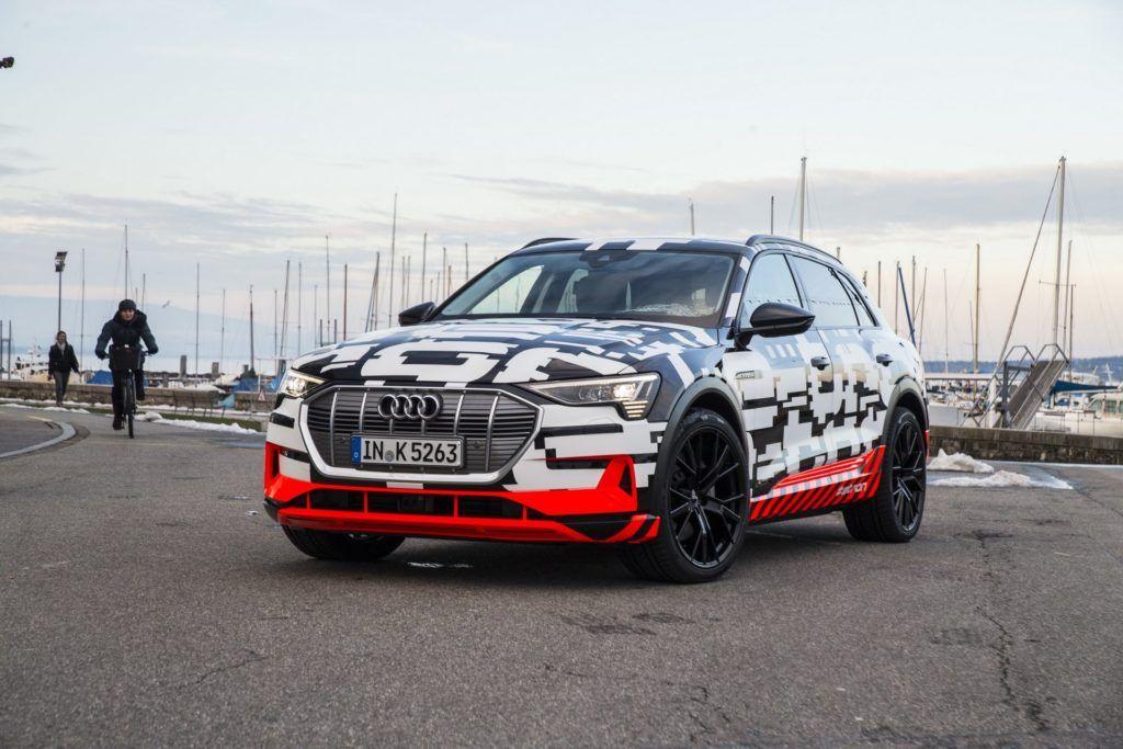 Prototyp elektrycznego Audi e-tron