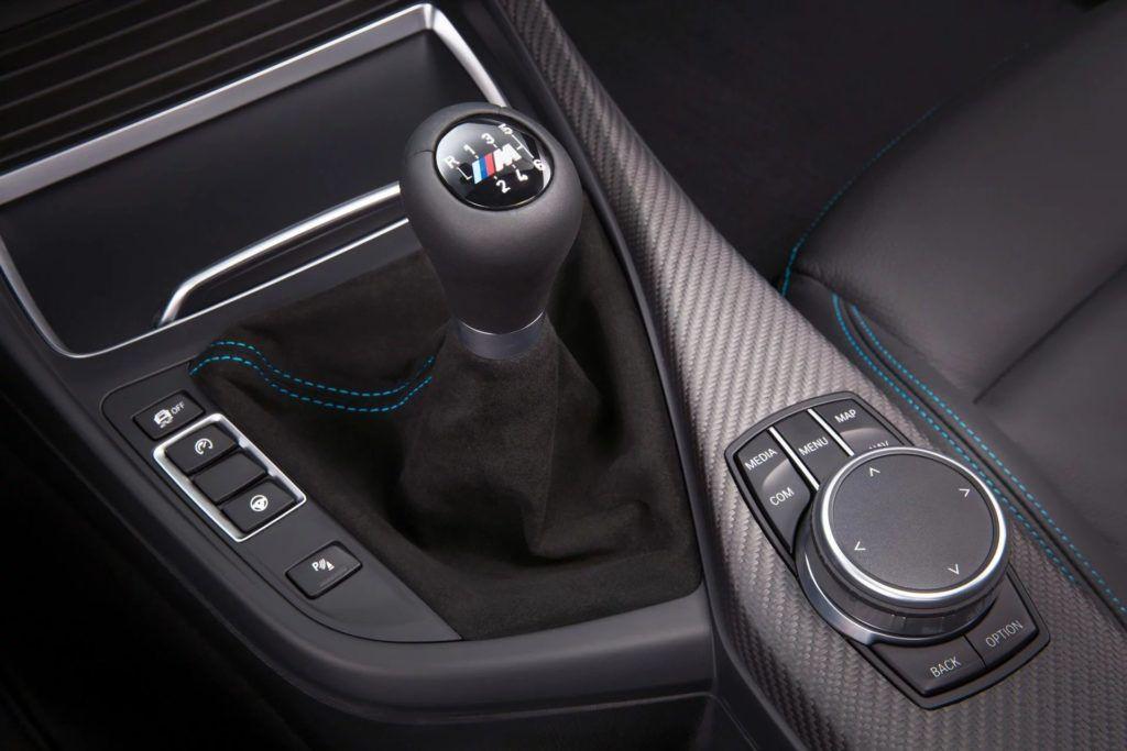 model BMW M GmbH z manualną przekładnią