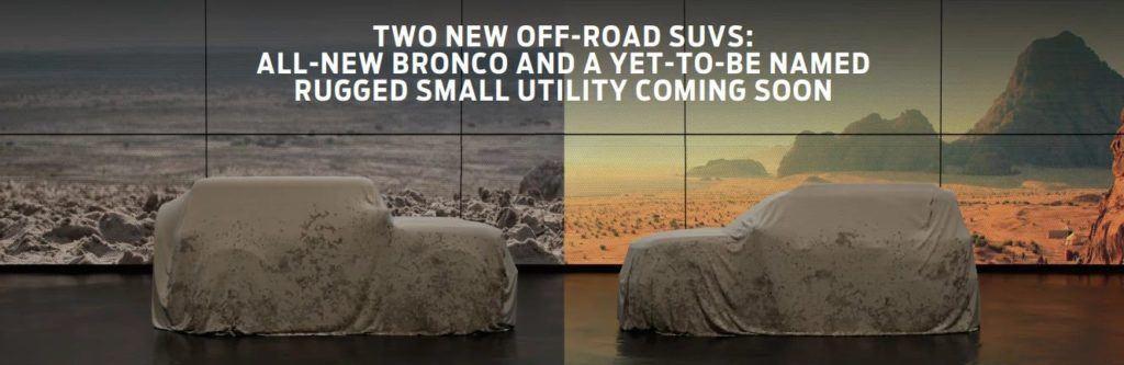 2020 Ford Bronco i Baby Bronco