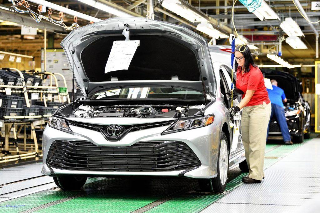 Produkcja Toyoty Camry w USA