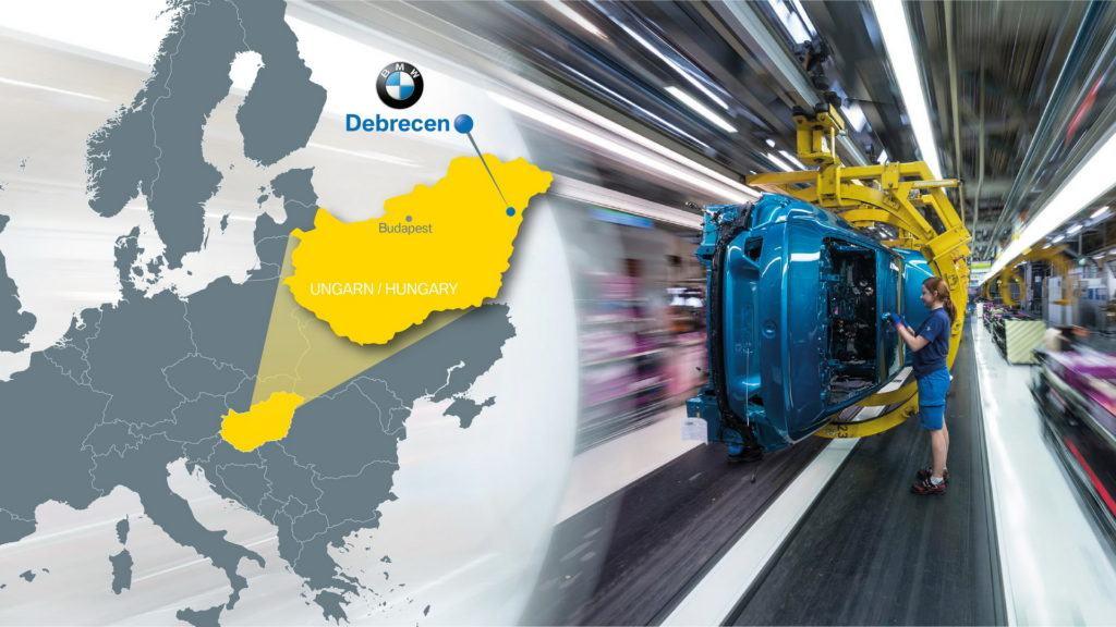 nowa fabryka BMW na Węgrzech