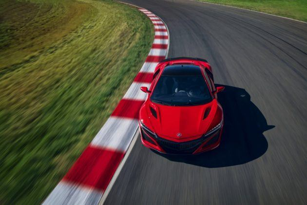 Acura NSX po liftingu (2019)