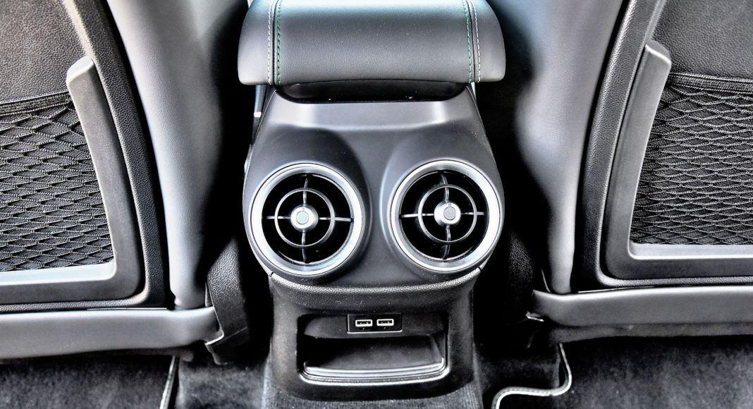Alfa Romeo Stelvio Quadrifoglio - nawiewy