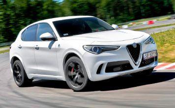 Alfa Romeo Stelvio Quadrifoglio - otwierające