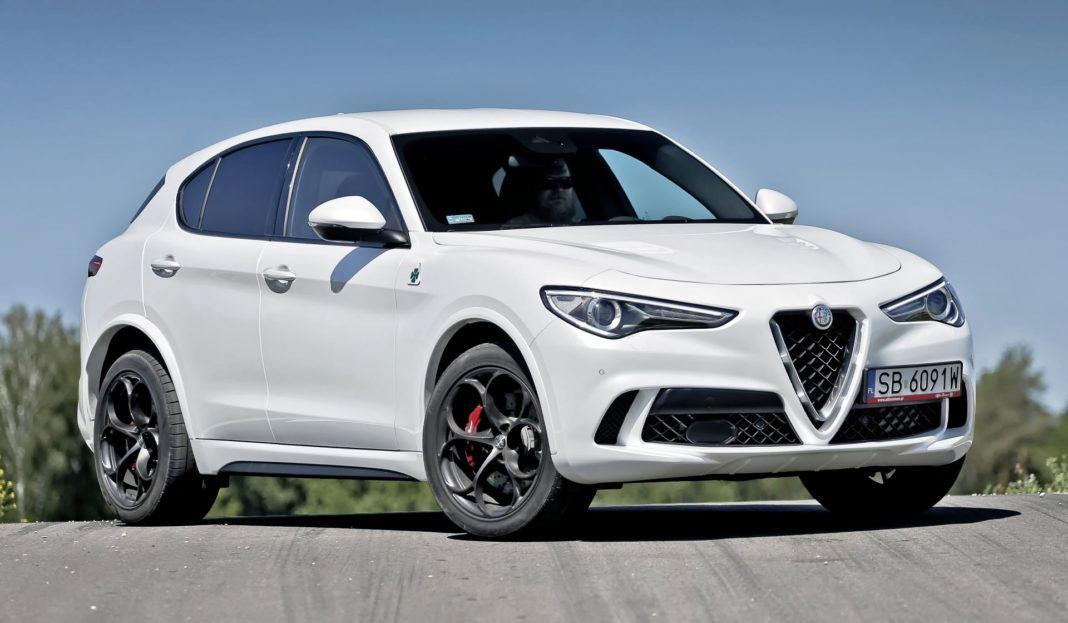 Alfa Romeo Stelvio Quadrifoglio - przód