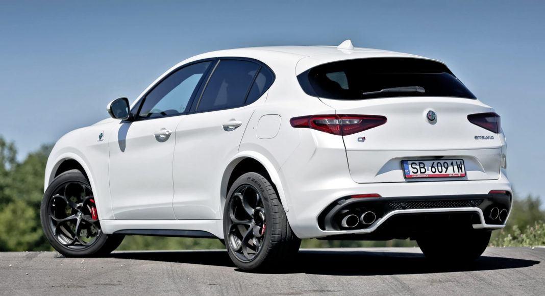 Alfa Romeo Stelvio Quadrifoglio - tył