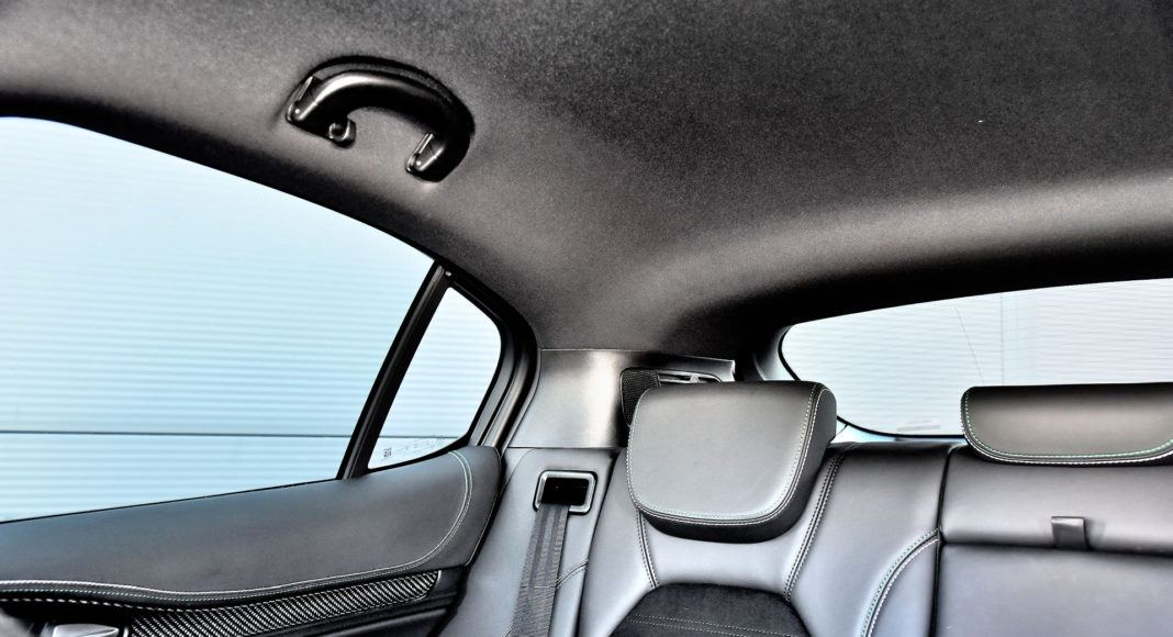 Alfa Romeo Stelvio Quadrifoglio - widoczność