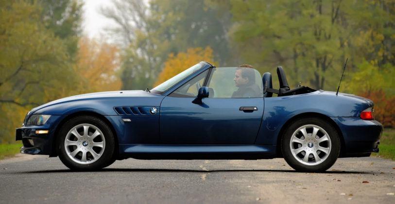 BMW Z3 - dach złożony