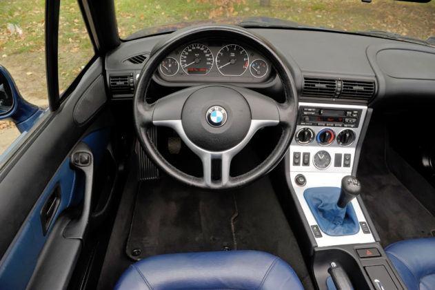 BMW Z3 - deska rozdzielcza