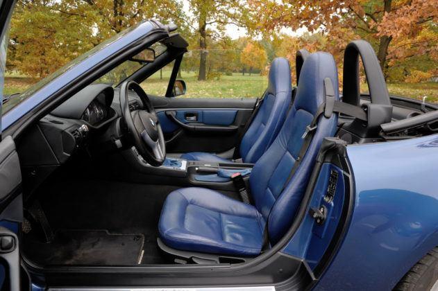 BMW Z3 - fotel kierowcy