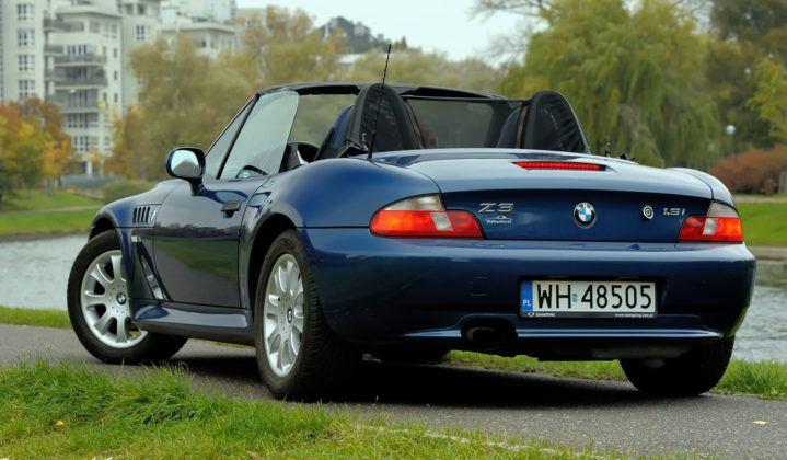 BMW Z3 - tył