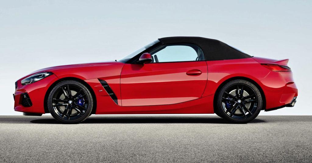 BMW Z4 - bok