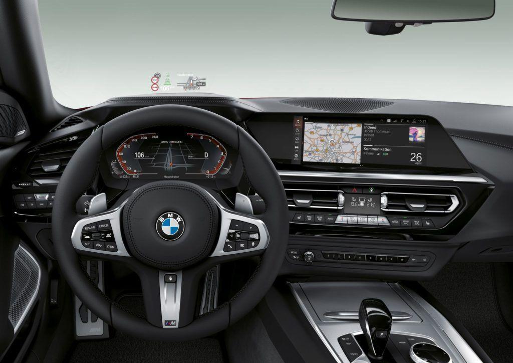 BMW Z4 - deska rozdzielcza