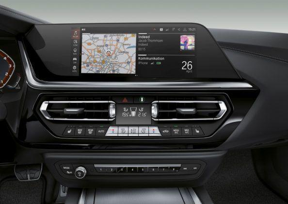 BMW Z4 - wyświetlacz przezierny