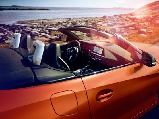 BMW Z4 - zdjęty dach