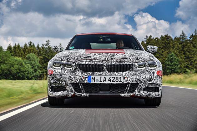 BMW serii 3 G20 - przód
