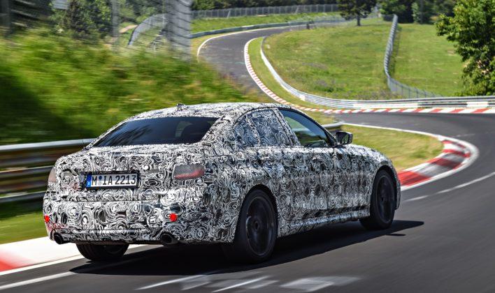 BMW serii 3 G20 - test na Nurbugringu