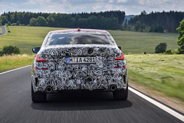 BMW serii 3 G20 - tył