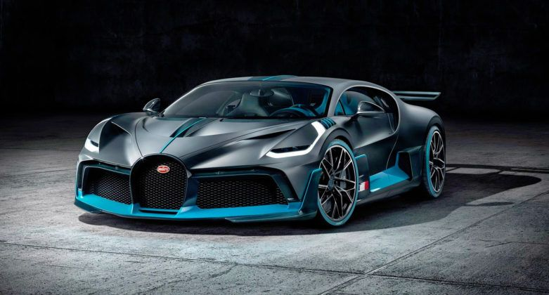 Bugatti Divo - przód