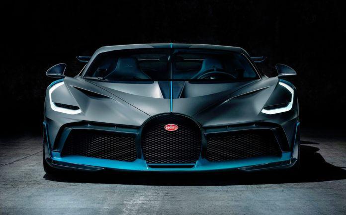 Bugatti Chiron Divo - przód