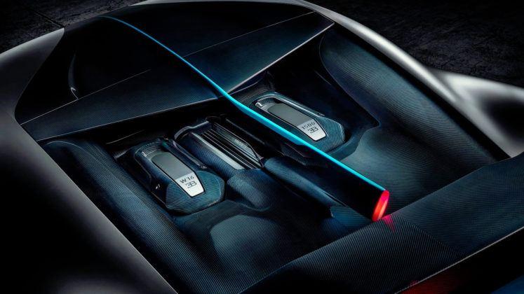 Bugatti Divo - silnik