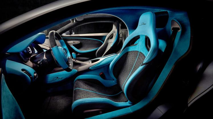 Bugatti Divo - fotel kierowcy
