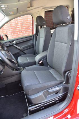 Volkswagen Caddy Beach - fotel kierowcy