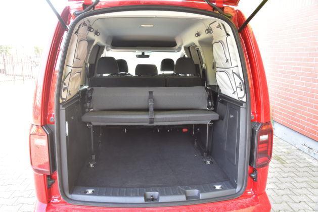 Volkswagen Caddy Beach - bagażnik