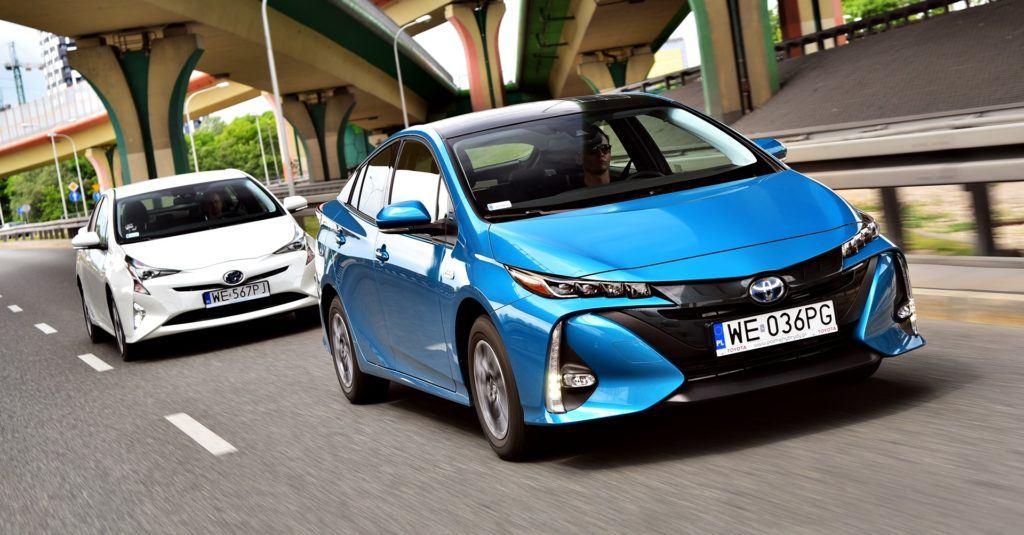 Ekologiczne strefy w Polsce - Toyota Prius