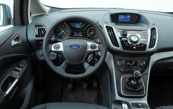 Ford C-Max II deska rozdzielcza