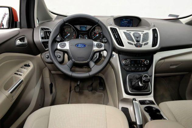 Ford C-Max II - deska rozdzielcza