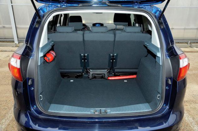 Ford C-Max - bagażnik