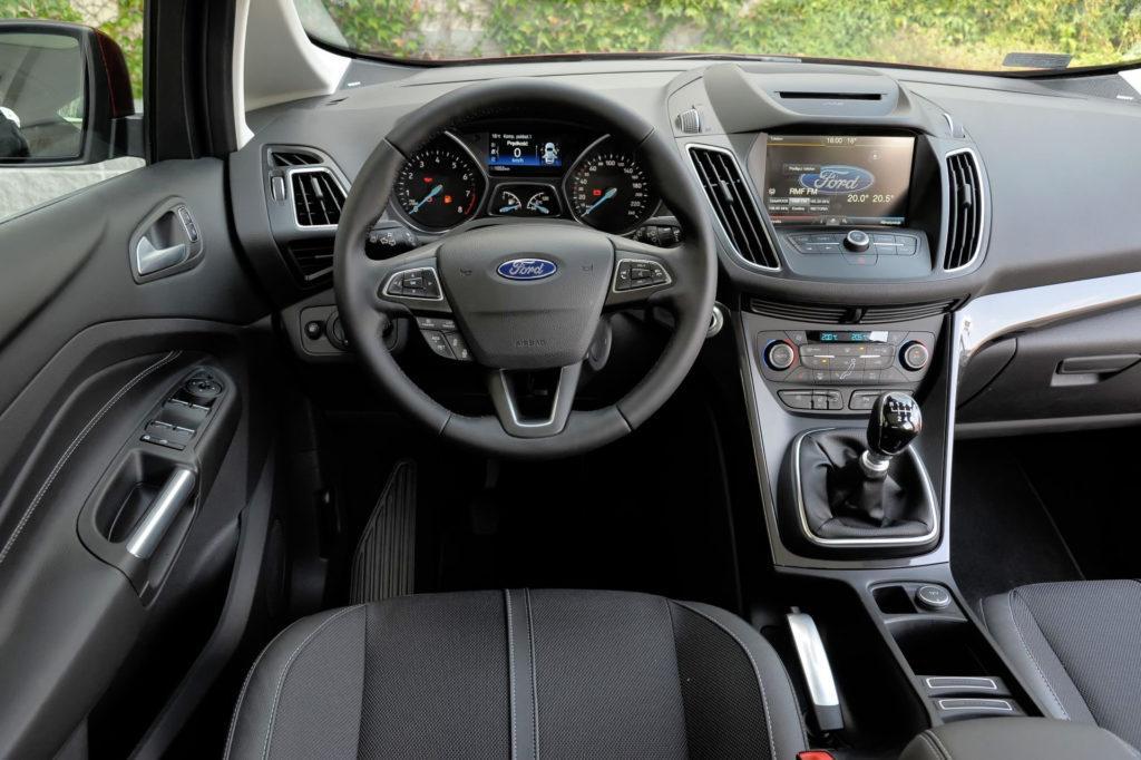 Ford C-Max - deska rozdzielcza