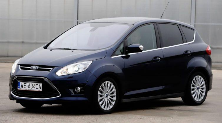 Ford C-Max - przód