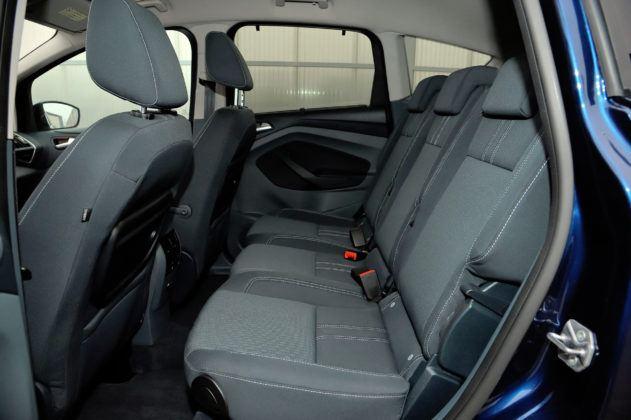 Ford C-Max - tylna kanapa
