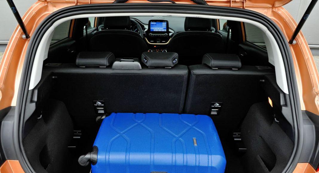 Ford Fiesta - bagażnik