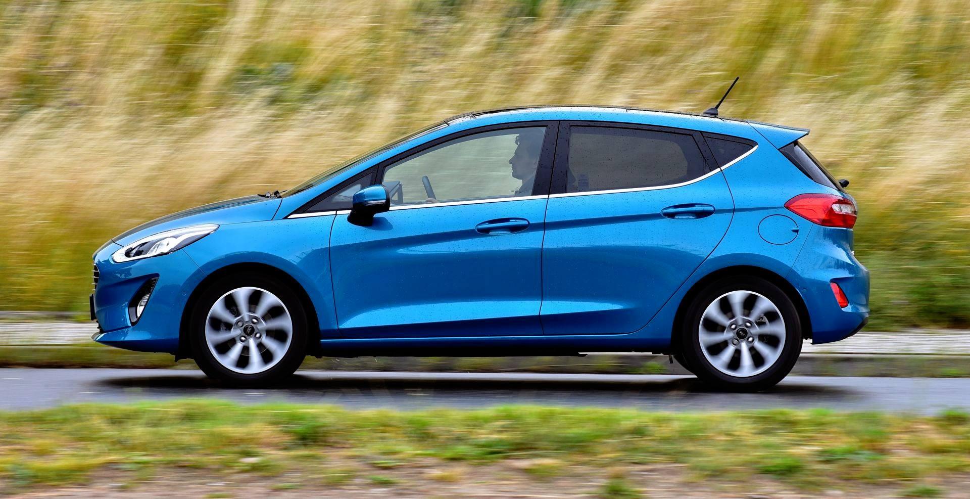 Ford Fiesta - dynamiczne
