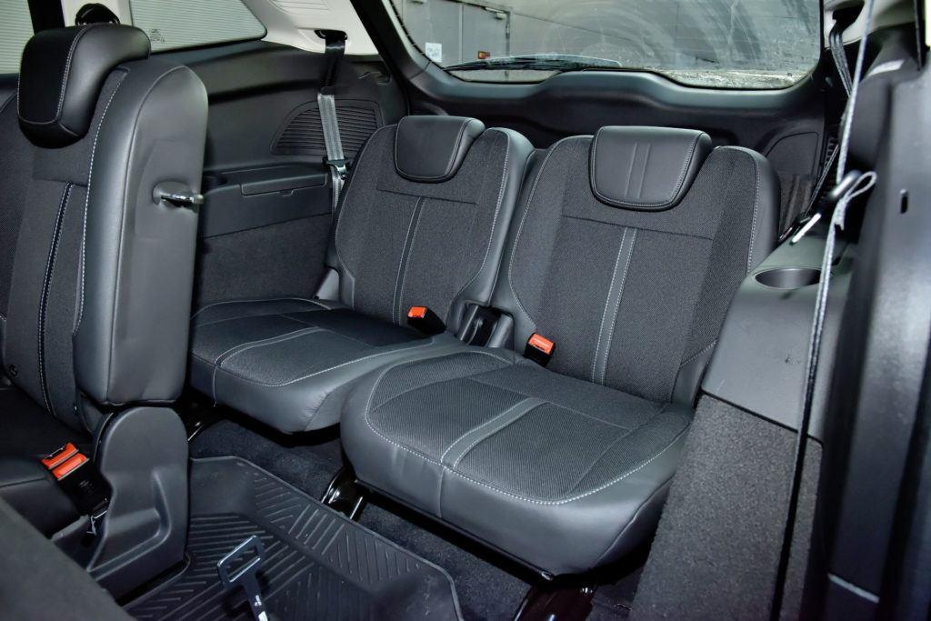 Ford Grand C-Max - trzeci rząd siedzeń