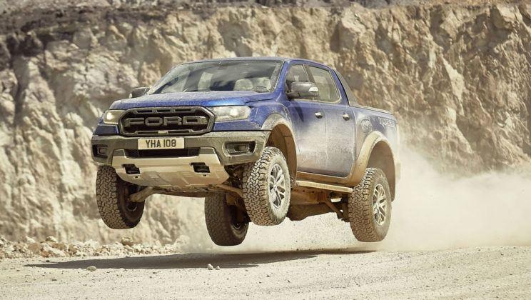 Ford Ranger Raptor - dynamiczne