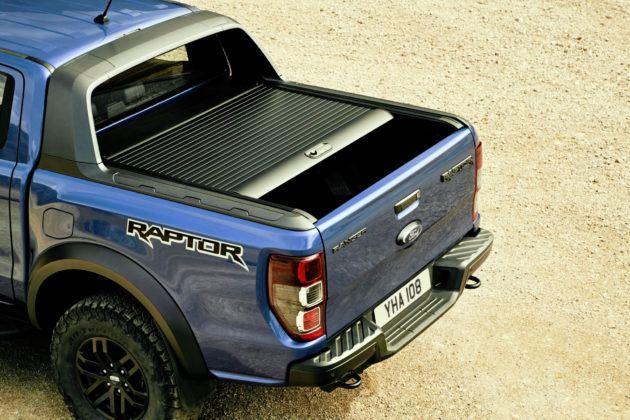 Ford Ranger Raptor - przestrzeń bagażowa